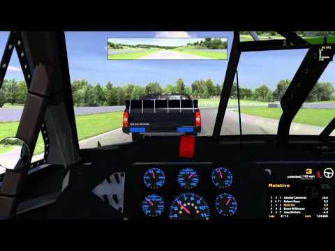 Iracing : Best Drift Sim 2014!!!11!!1!! (trucks  Mosport) video