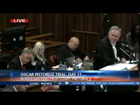 Oscar Pistorius Trial: Monday 17 March 2014, Session 3