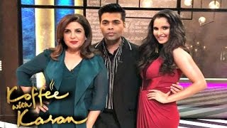 Koffee With Karan Season 5 Episode 3 - Sania Mirza And Farah Khan