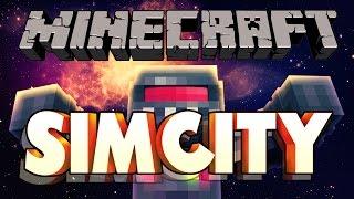 MINECRAFT - SIM CITY!