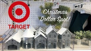 NEW! CHRISTMAS 2018 TARGET DOLLAR SPOT SHOP WITH ME! I love this too much.