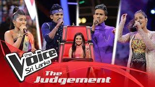The Judgement | Team Sashika Day 08 | The Knockouts | The Voice Sri Lanka