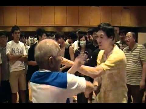 Grandmaster Ip Chun & Samuel Kwok