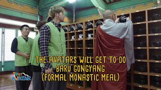 [TourAvatar EP3-9]Balwoo Gongyang is the act of eating as part of self-control.
