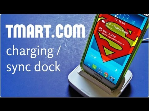 Multi-function Dock USB Charger for the Samsung Galaxy SIV S4
