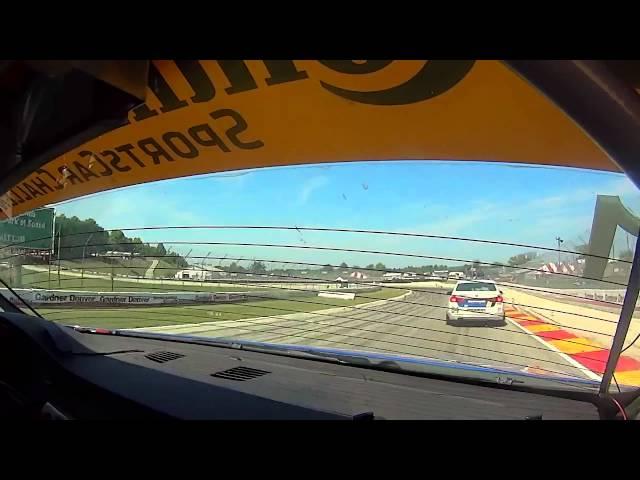 BimmerWorld Racing Greg Liefooghe BMW E90 328i Road America Practice