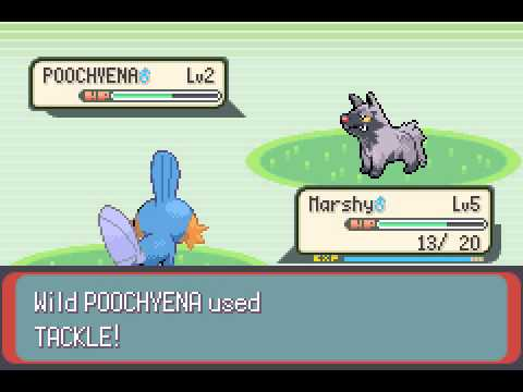 Pokemon Emerald - Pokemon Emerald : Part 2 - Battling Brendan - User video
