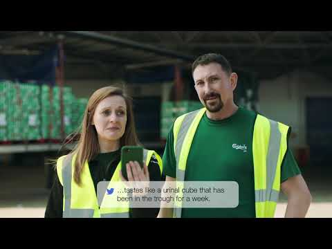Carlsberg UK Mean Tweets #2 Advertising Campaign | Advertising Agency London Fold7