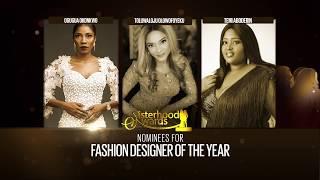Nominees FASHION DESIGNER OF THE YEAR - Sisterhood Awards 2017