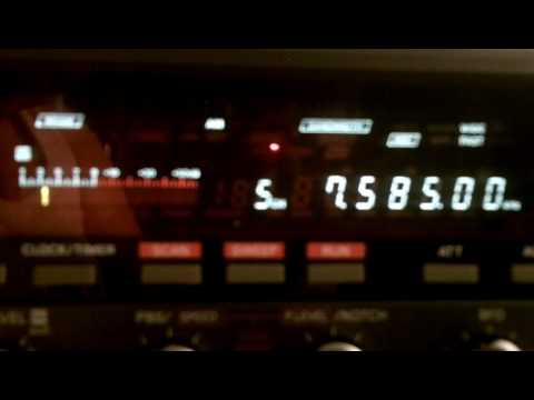 Radio Latino 28 05 2016 7585 kcs 22 14 UTC