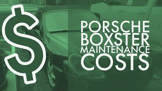 How Much Does Maintenance Cost On A Cheap Porsche Boxster Over 5 Years