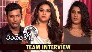 Pandem Kodi 2 Team Interview  | Vishal, Keerthi Suresh,Varalakshmi | Yuvanshankar | N. Lingusamy