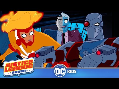 Justice League Action | Two-Faced Disguise | DC Kids