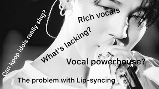 Unpopular Kpop Opinions;Vocal Ver.