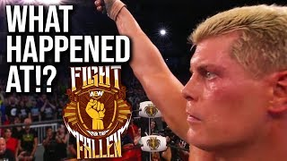 WHAT HAPPENED AT: AEW Fight For The Fallen