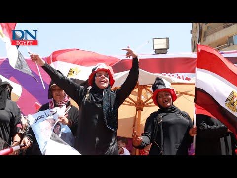 Pro-army protesters celeberate Sinai Liberation Day