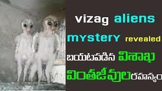 #Vizag #aliens mystery revealed telugu | Aliens in visakhapatnam | బయటపడిన విశాఖ వింతజీవుల రహస్యం |