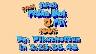 "[TAS] NES Super Mario Bros. 3mix ""100%"" by PikachuMan in 2:23:36.48"