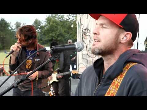 Joseph Arthur, Jeff Ament, Mike McCready&Matt Cameron - When The Fire Comes live 9/4/11 PJ20