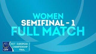 Women's Semifinals Match 1 | #EuroBeachVolley 2018