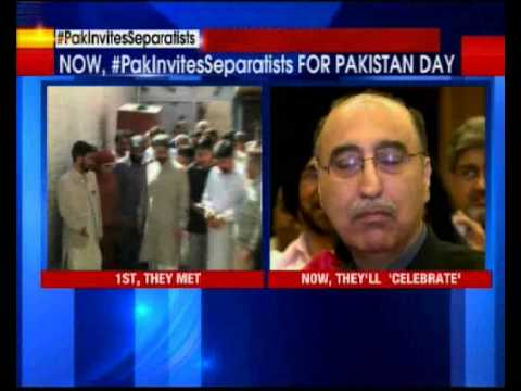 Separatists invited for Pakistan day celebrations