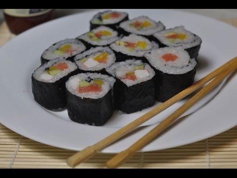 Приготовление суши(роллов) дома (sushi)