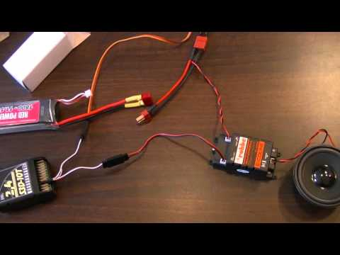 Sternmotor / radial engine Soundmodul Review