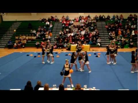 Upper Merion Middle School Cheerleading Takes First Place at the Kedron Spirit Classic 2.26.12