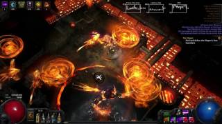 Path Of Exile - MoM Essence Drain Ascendant Phoenix Kill (2.6)