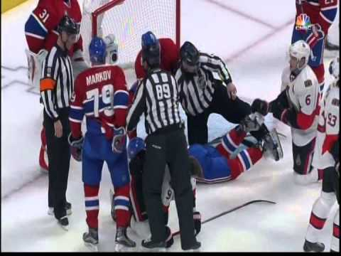 (Video) Subban Is up to His Old Tricks; Punches Milan Michalek  in Head