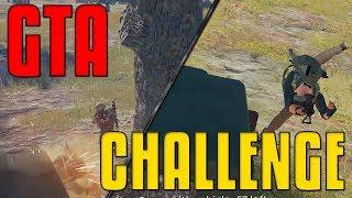 GTA Challenge, Win By Vehicle | PUBG
