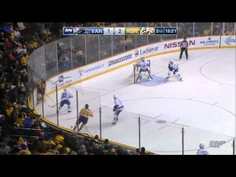 Vancouver Canucks vs  Nashville Predators 13.01.2015