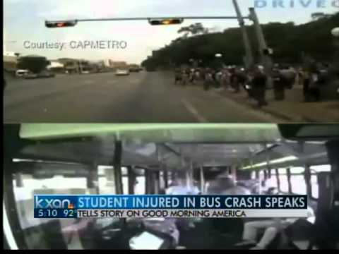 UT student hit by bus talks on GMA