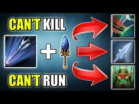 Triple Ability Upgrade [4k HP Drow Ranger] Dota 2 Ability Draft