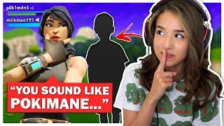 Pokimane pretends to be a BOY in Fortnite Random Duo Fill!