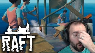 ABANDON SHIP? WELP... | Raft Multiplayer Part 1