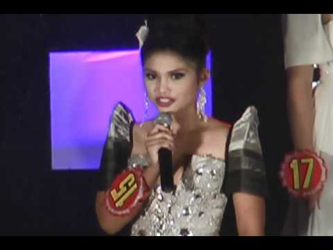 Miss Bohol Sandugo 2011- Final 3 Question