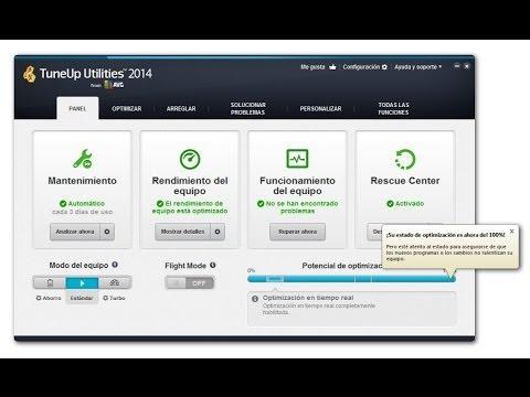 Como usar TuneUp Utilities 2014 - Completo