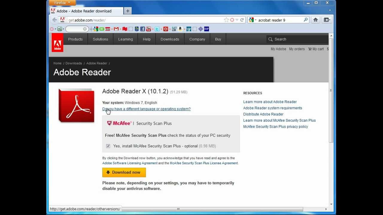 set adobe as default pdf reader windows 10