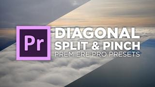 Chungdha viyoutube diagonal split pinch transition preset tutorial adobe premiere pro chung dha spiritdancerdesigns Image collections