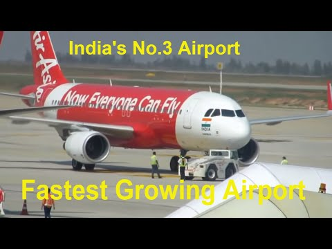 Bangalore Kempa Gowda International Airport Actions : Pushback, Takeoff, Arrivals