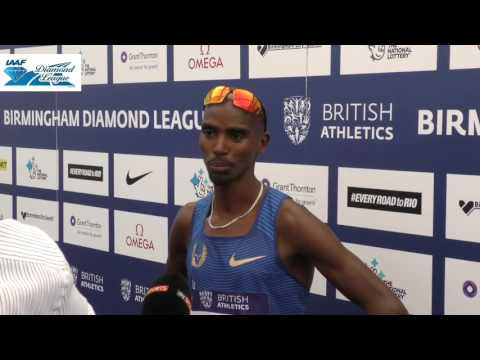 Mo Farah is looking to break records in 2016