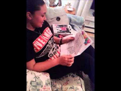 Girl gets One Direction tickets for her birthday(best reaction)