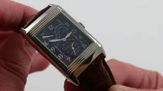 Pre-Owned Jaeger-LeCoultre Reverso Night and Day Luxury Watch Review