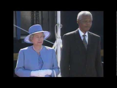 The Queen visits Cape Town, 1995