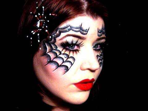 Halloween: Black Widow Mask Video