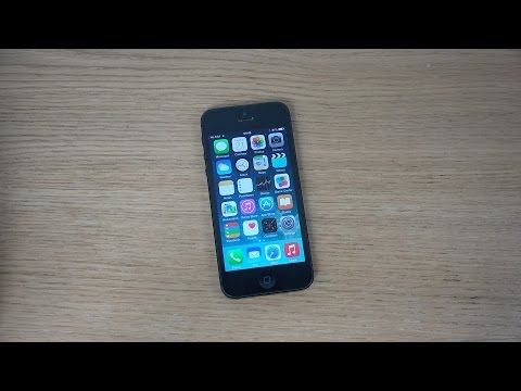iPhone 5 iOS 8.1 Official - Review (4K)