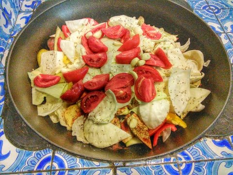 Как приготовить мясо с овощами - видео