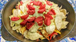 Как приготовить Думляма(Томленое мясо с овощами)