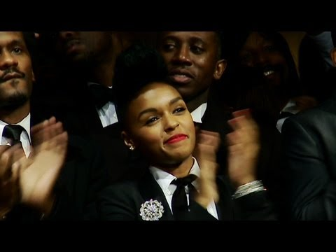 Janelle Monáe and President Obama share the tightrope